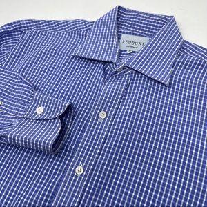 Ledbury Men's 16 Long Sleeve Button Front Shirt